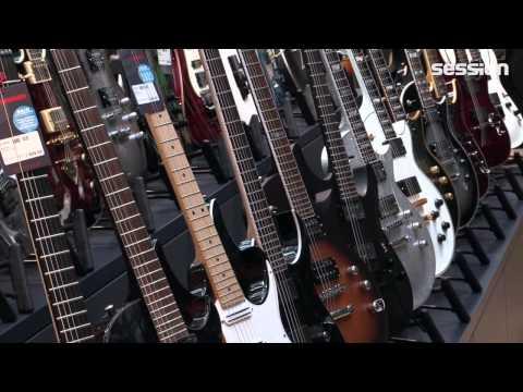 Rundgang durch die neue E-Gitarrenabteilung bei session Frankfurt