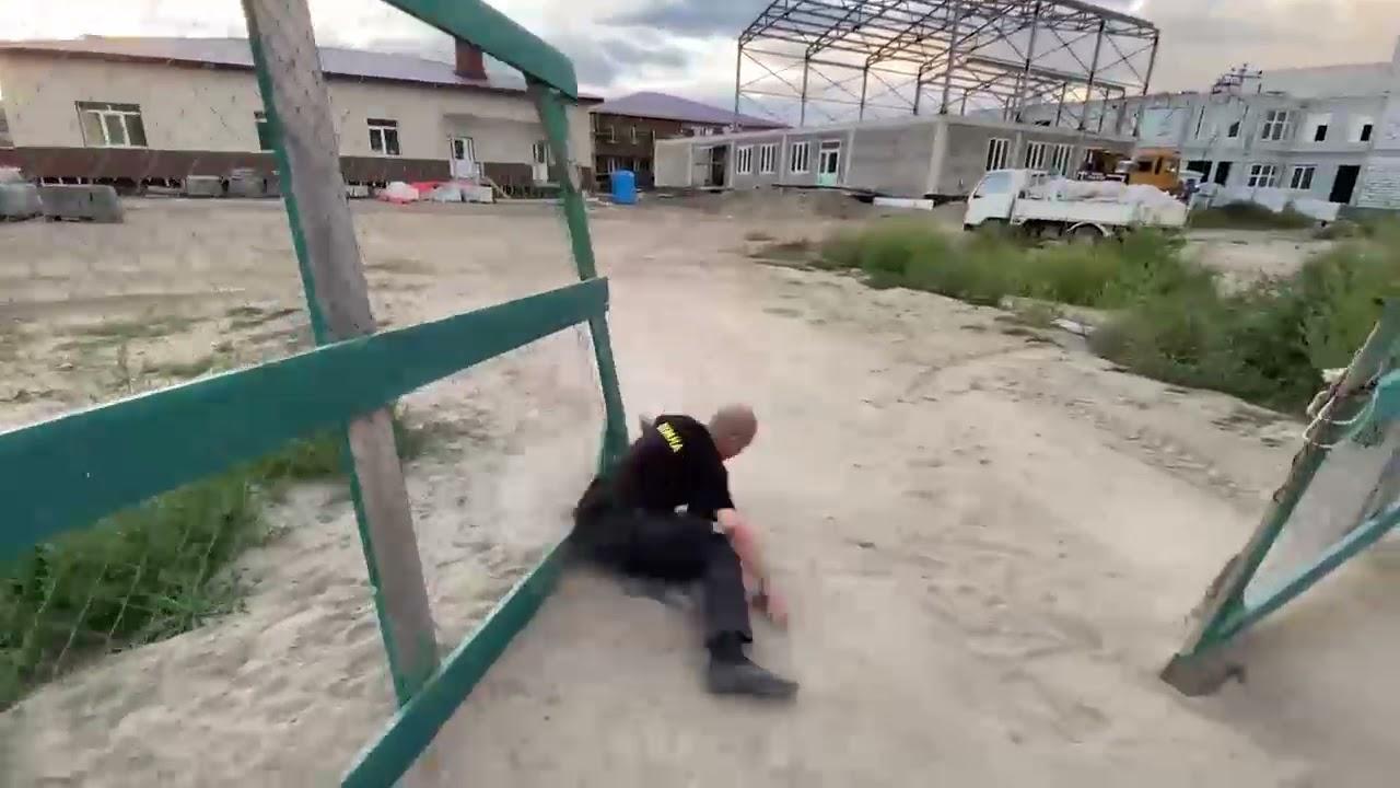 Губернатор Приморья без предупреждения приехал с проверкой на стройплощадку школы