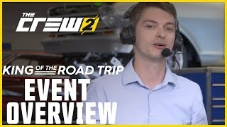 The Crew 2: LIVESTREAM - King of the Road Trip - Event Overview | Ubisoft [NA]