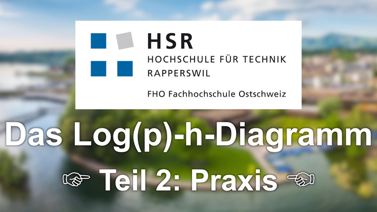 Das Log(p)-h-Diagramm | Teil 2: Praxis - YouTube