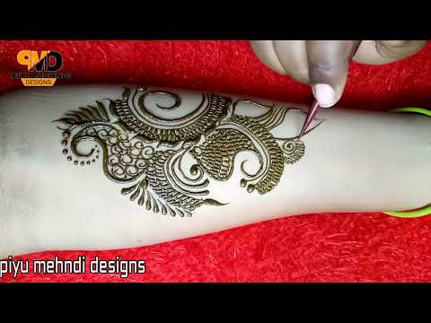 Arabic Mehndi Design For Special Occasion | Easy Simple Arabic Mehndi Design