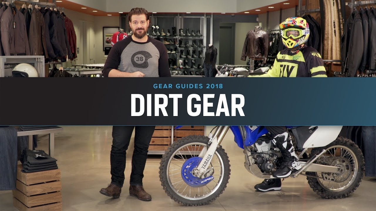 6a262e513e2 Best Dirt Motorcycle Gear 2018 at RevZilla.com - YouTube