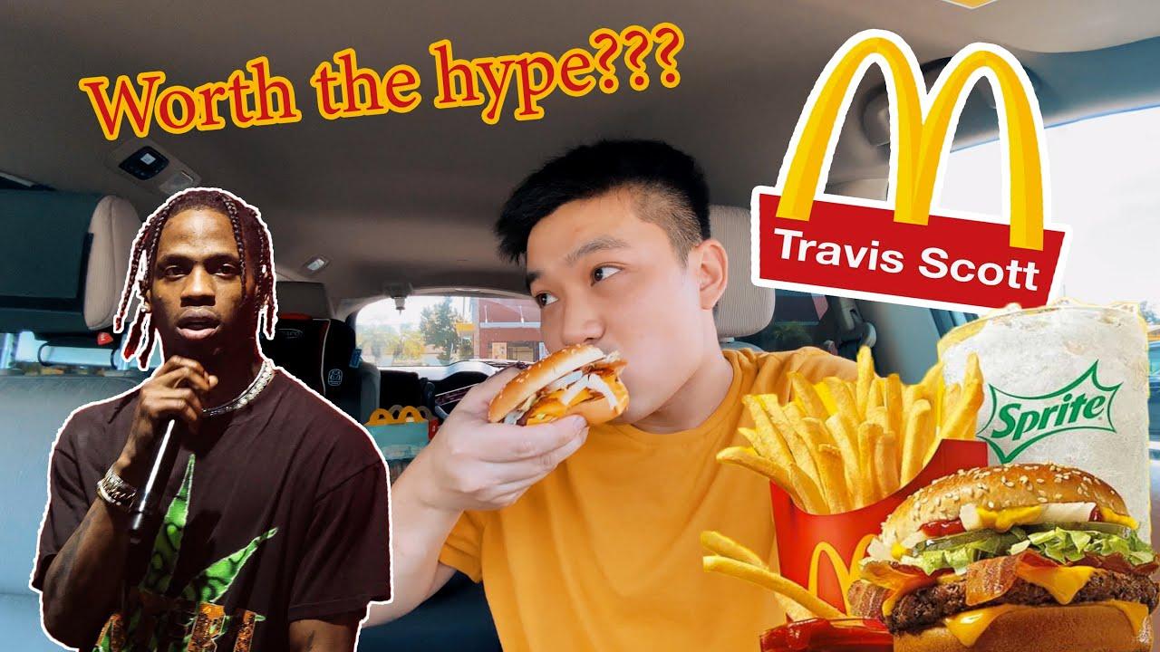 McDonald's NEW Travis Scott Meal Review !!!