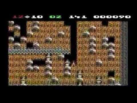 Boulder Dash Commodore 64