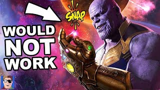 Why Thanos' Plan Would Never Work | Endgame Theory