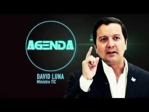 Ministro David Luna, nos presenta su agenda de la semana #ViveDigitalTV