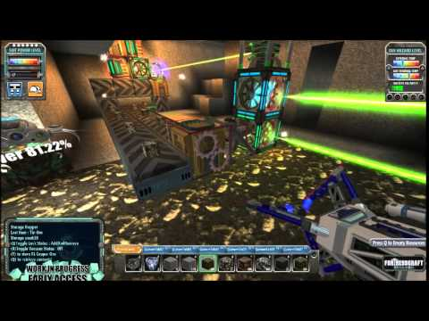 FortressCraft Evolved Season 3 Episode 41 We get our first Anti Matter drill and upgrade our power