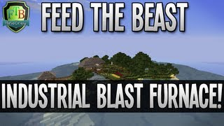 Feed The Beast: Industrial Blast Furnace! (EP09)