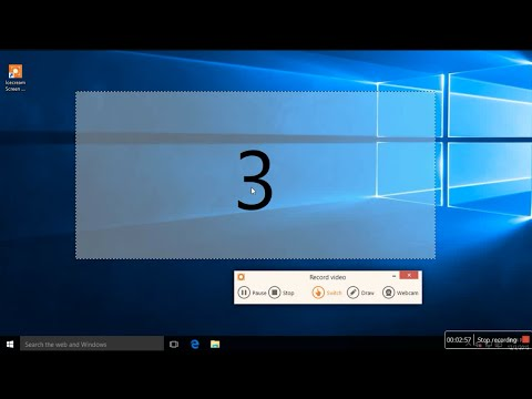 How To Record Your Computer Screen(windows10,8,7,xp)