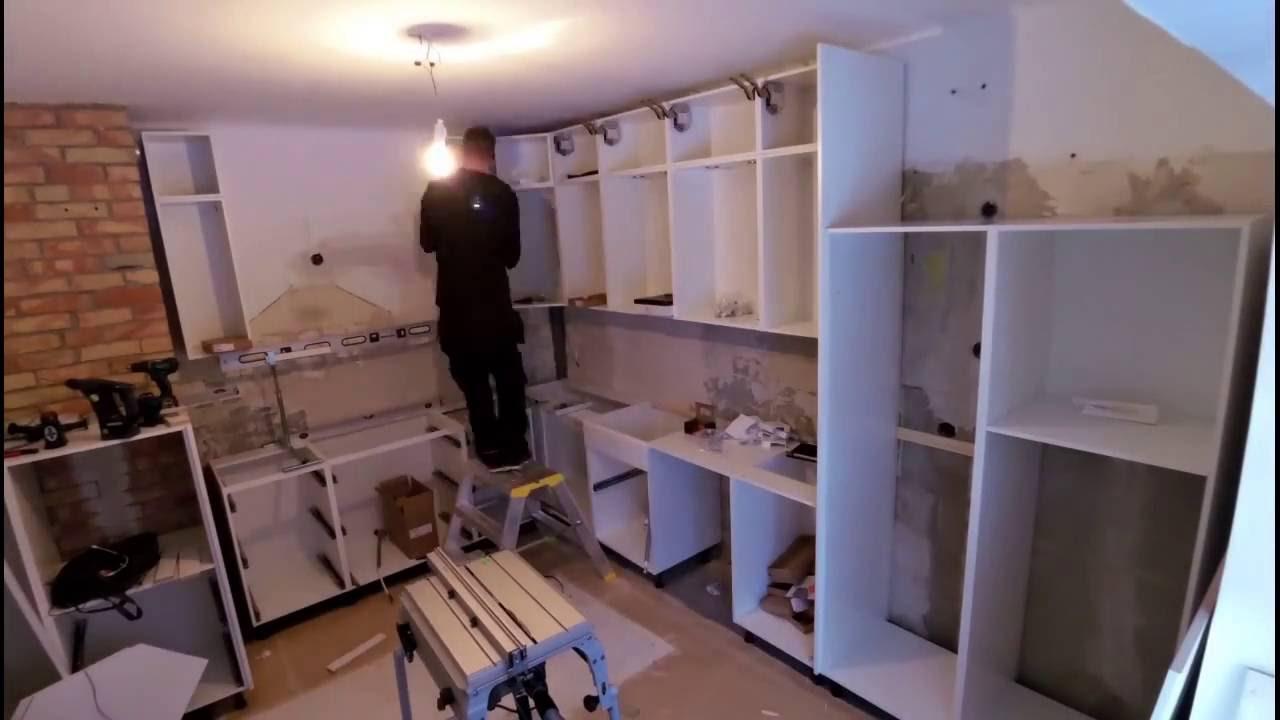 Kvik kitchen instalation timelapse   youtube