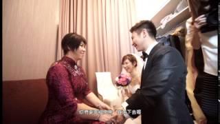 陳君佳融 婚禮mv 我們結婚了20150502
