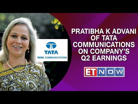 Pratibha K Advani Of Tata Communications On Company's Q2 Earnings
