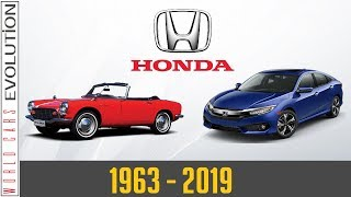 W.C.E - Honda Evolution (1963 - 2019)