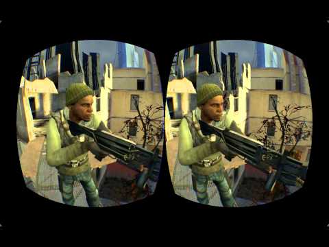Why I love play Half Life 2 with Oculus Rift
