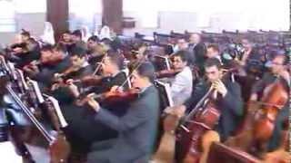 CCB Hinos hino 392 Sou crente em Jesus Ensaio de cordas Umuarama 24 03 2012.
