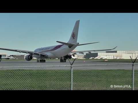 Air Algerie  A330-200  7T-VJC  departing Montreal (YUL) / May 27, 2017
