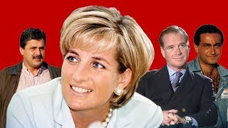 How many Lovers did Princess Diana have?