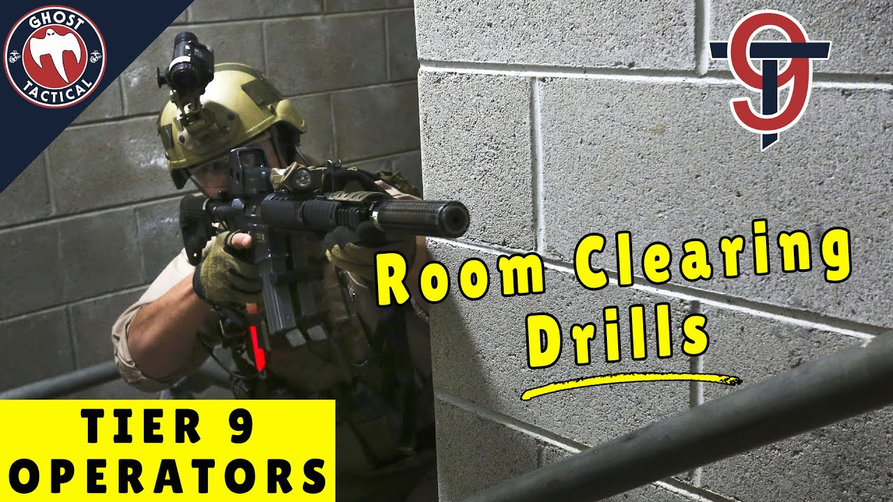 CQB TACTICS  l  2-Man & 4-Man Room Clearing Basics