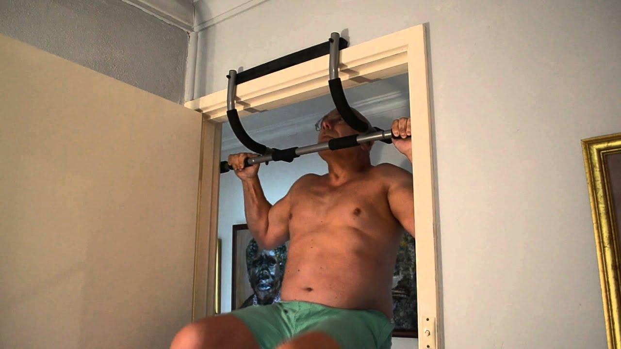 John Moulis Tests The Guy Leech Doorway Chin Up Bar Youtube