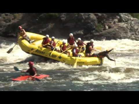 Rafting At Its Best In The Ottawa River - Ontario, Canada