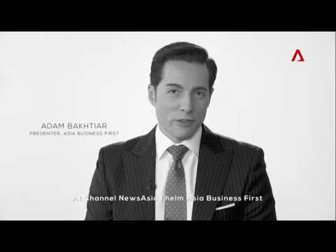 Adam Bakhtiar, Presenter, Asia Business First on Channel NewsAsia