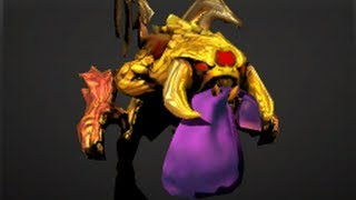 Dota2 FREE Golden Baby Roshan - Golden Roshan - ALL Dota2 Couriers