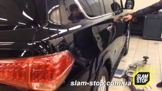 Доводчик двери на Infiniti QX80 – Дотяжка автомобильных дверей SlamStop(, 2015-04-16T10:04:31.000Z)