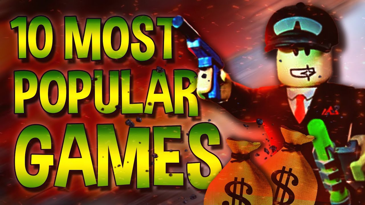 Top 10 Most Popular Roblox games in 2021