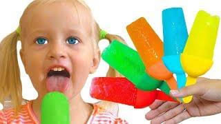 Фруктовое мороженое - Детская песня | Песни для детей от Кати и Димы