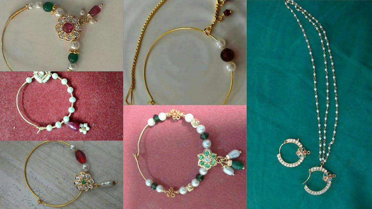 Rajputi Jodha Nath Design | Wedding Nose Ring | Rajputi Nath ...