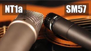 Rode NT1a vs Shure SM57 (acoustic guitar) (pt.1)