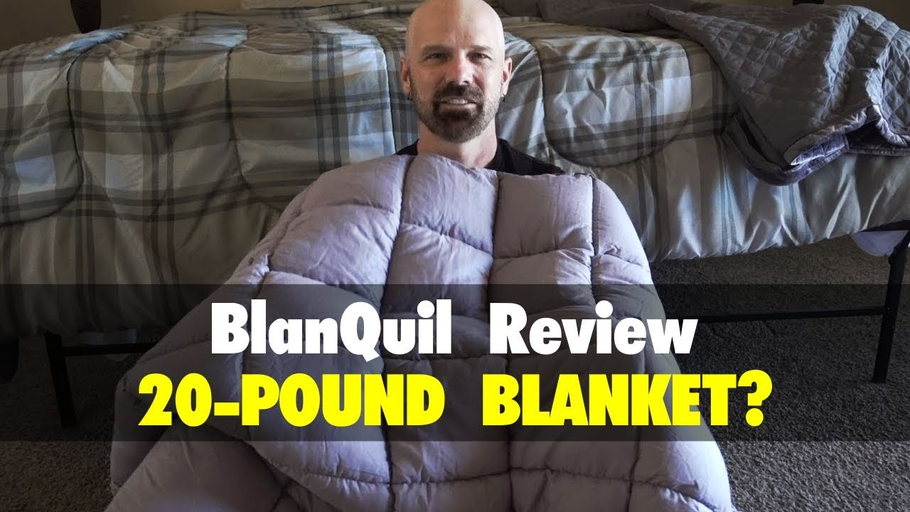 Blanquil Review 20 Pound Weighted Blanket Youtube