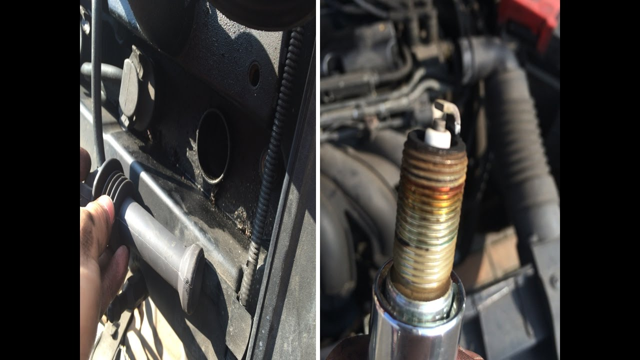 Ford Fiesta   Duratec Engine Changing Spark Plugs