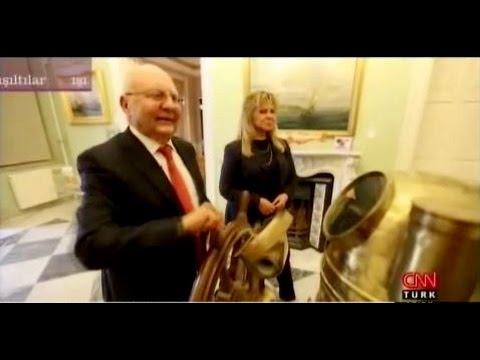"""Arkas Holding Yönetim Kurulu Başkanı Lucien Arkas -CNN Türk """"Işıltılar"""" programına konuk oldu."""