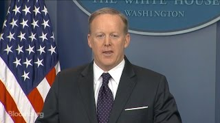 Spicer Responds to April Ryan's Question at News Briefing