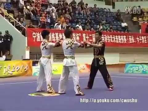 Wushu terbang gile abis