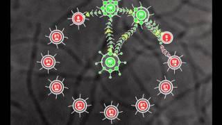 Интересная флеш-игра бактериальные войны.