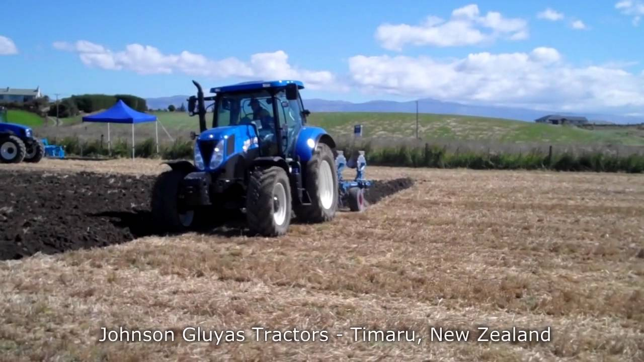 new t7 200 range command tractor with lemken