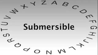 SAT Vocabulary Words and Definitions — Submersible