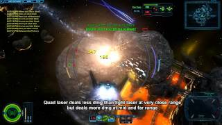 SWTOR S-13 Sting scout Galactic Starfighter gameplay with two loadouts