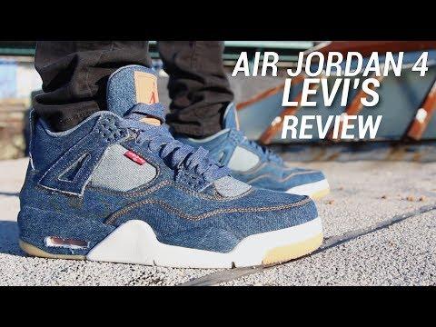 AIR JORDAN 4 LEVIS REVIEW