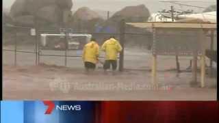 TVW Seven News Perth - Tropical Cyclone Glenda coverage (March 30, 2006)