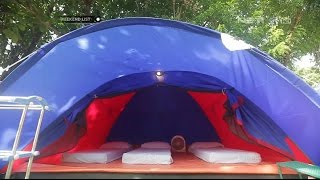 Weekend List - Tanjung Lesung - Sekarang, Camping di Pantai Jadi Nyata