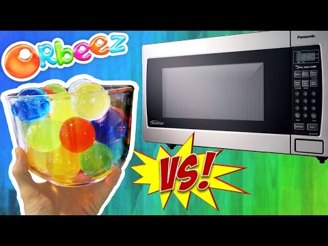 Thumbnail: Orbeez VS Microwave (DANGER!)