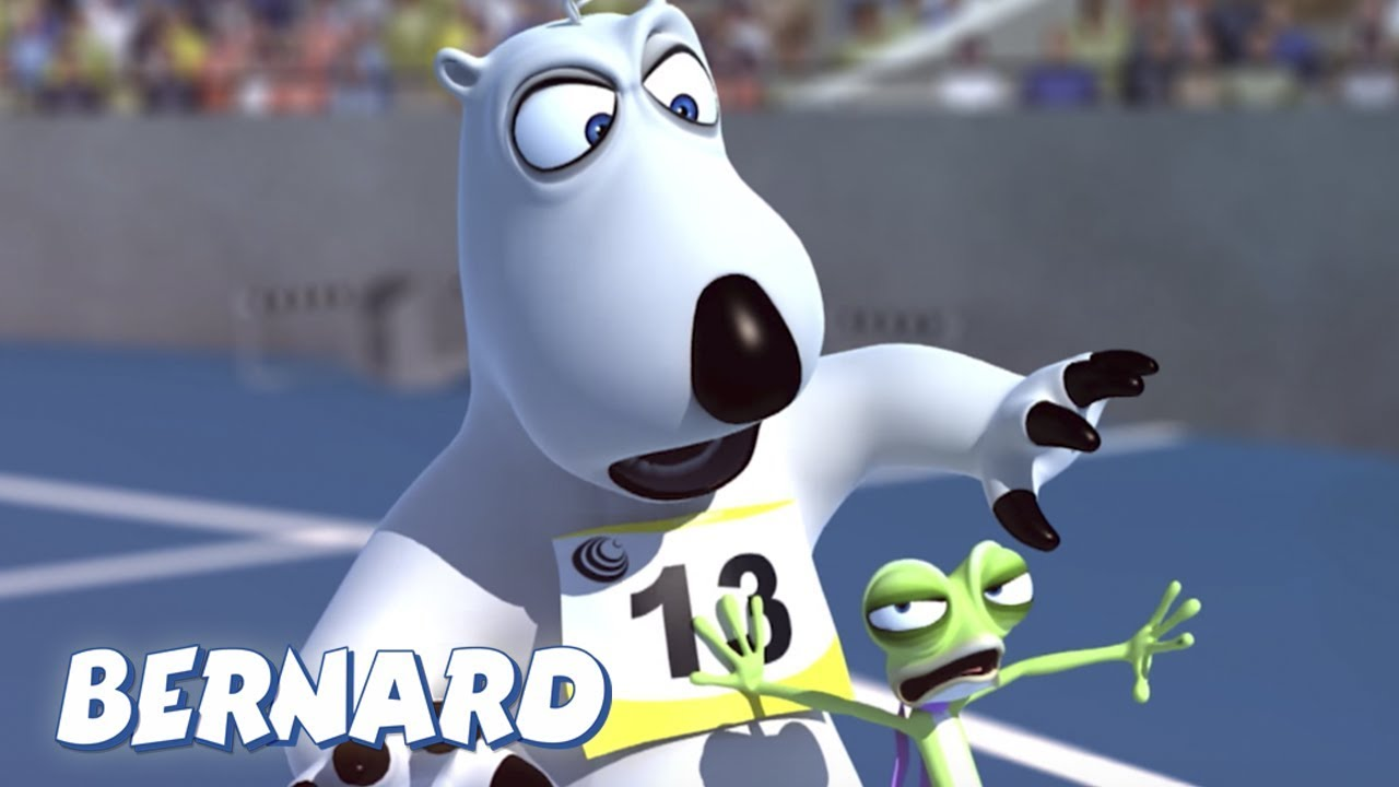 Bernard Bear   Race Walking 2 AND MORE   Cartoons for Children