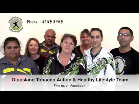 Introducing the Gippsland Tobacco Action and Healthy Lifestyle Team
