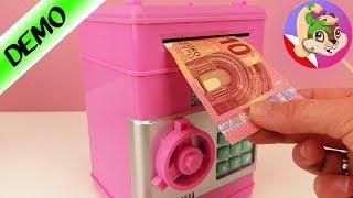 BANKOMAT na domowy użytek, na MONETY - skarbiec w pokoju dziecięcym | elektroniczne skarbonki