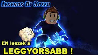 KAPTAM EGY FINGOT !? 😂 FUTÁS ! | Roblox Legends of Speed
