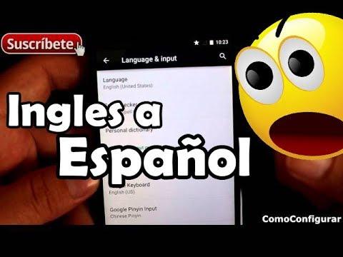 Como Pasar De Ingles A Español Un Celular Android 5 Lollipop