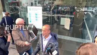 New Zealand: Son of first named mosque shooting victim speaks outside Christchurch court
